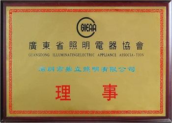 Illuminating electric applicance association