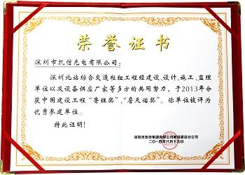 Shenzhen North Railway Station Award
