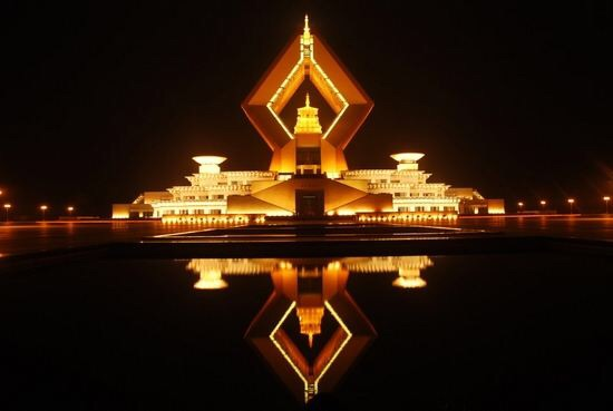 Shanxi Famen temple landscape lighting project